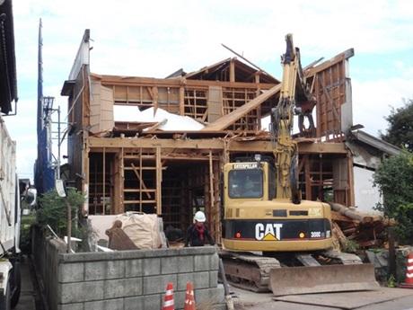 鳥取県倉吉市(中部)の解体工事なら私達におまかせ下さい